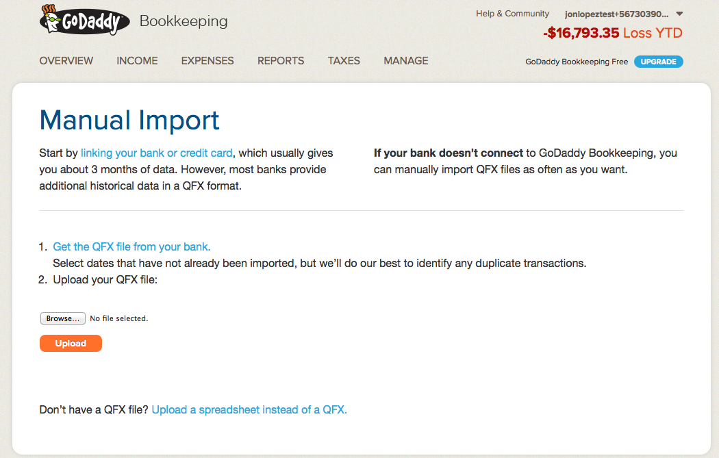 How to Import a QFX – Bookkeeping Support